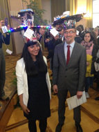 10.02.2017Sana Safatul Hasan and Wade Sugden graduated with Honors from the CiM-IMPRS PhD program. Congratulations from everybody in the laboratory!